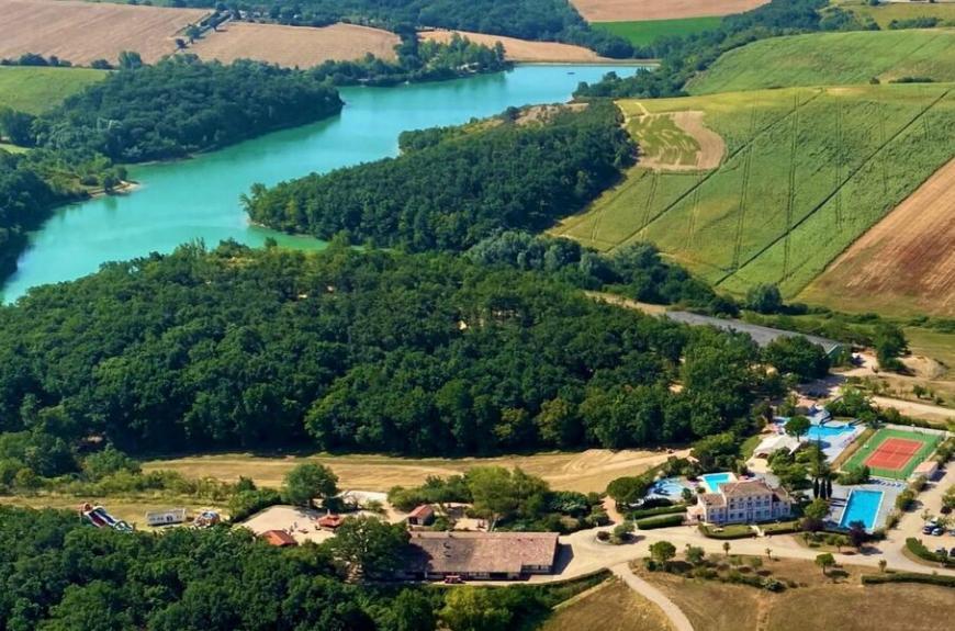 Domaine du Koukaño vue aérienne