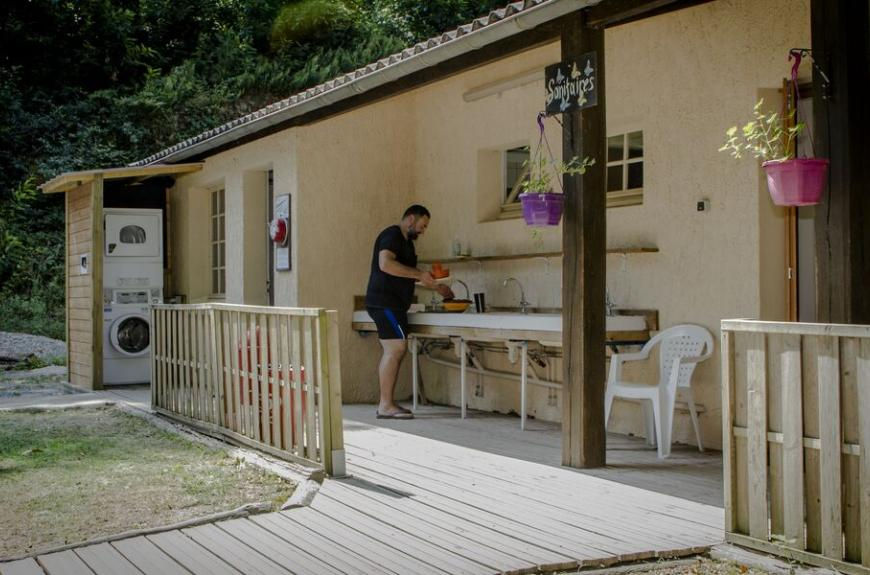Camping Lestap sanitaires