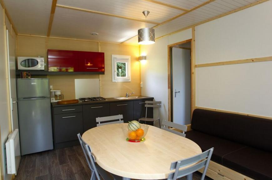 Camping O Bleu Pastel salon