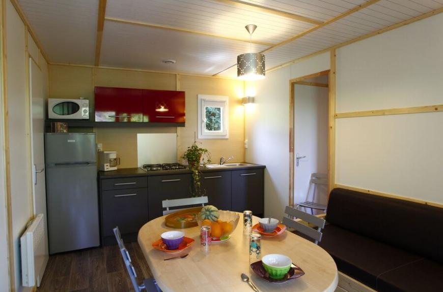 Camping O Bleu Pastel salon mobile home