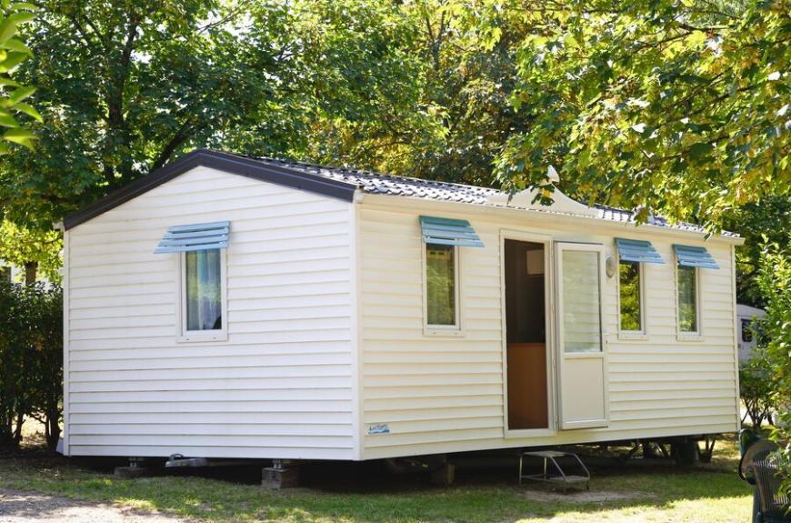 Camping O Bleu Pastel mobile home