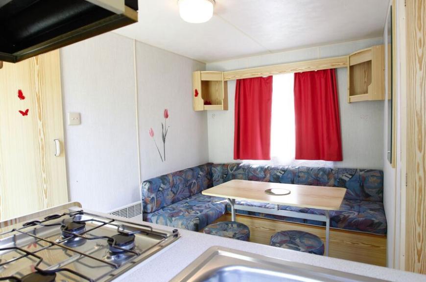 Camping O Bleu Pastel intérieur mobile